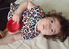 Child With Red Bowl Thumbnail